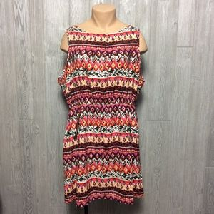 Sweet Printed Dress PLUS SIZE 3X